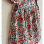 Dress for my friend's daughter:)