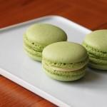 Macaron – green tea –