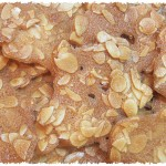 Almond tuiles recipe / easy and yummy!