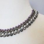 Party necklace request in purple
