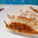 Pork Gyoza with Cabbage