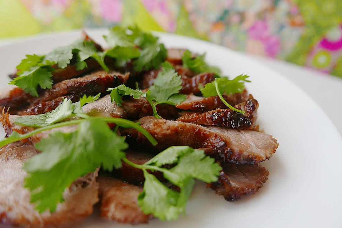 Thai grilled pork