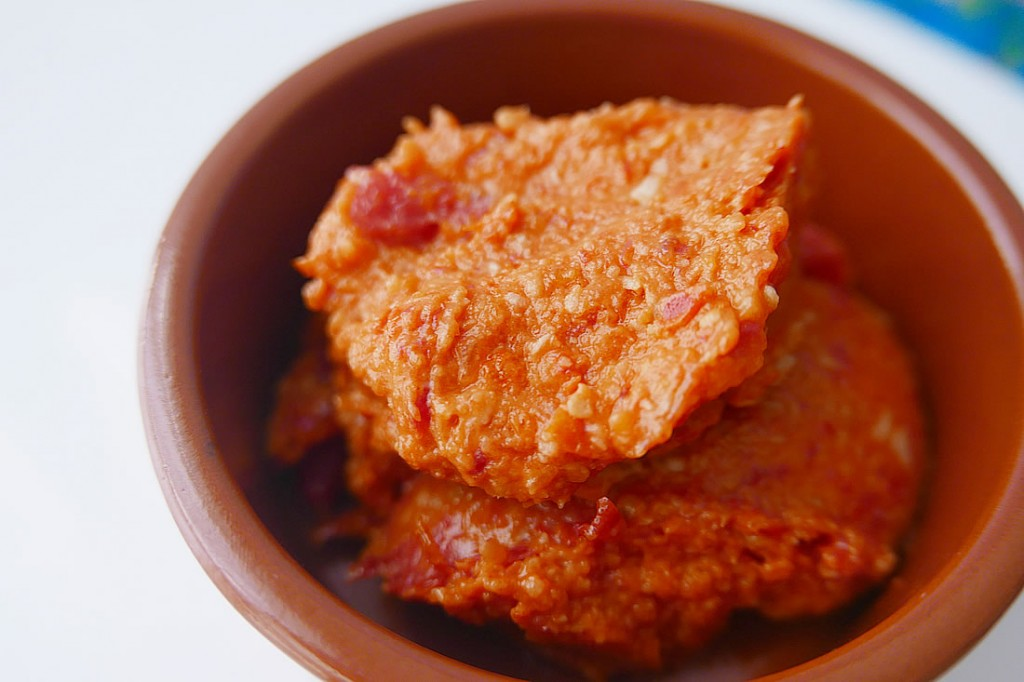 Homemade dry tomato paste
