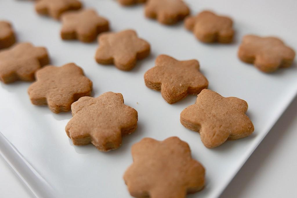 Kinako cookies –  toasted soybean flour