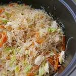 Chiken rice noodle