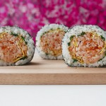 CREATIVE SUSHI ROLL – Rose