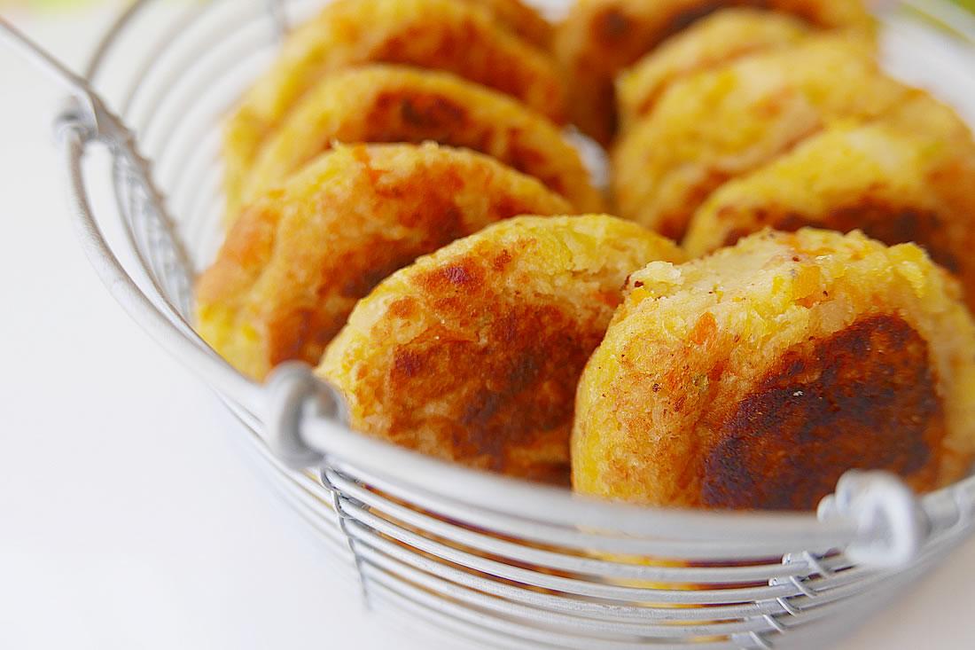 Potato cake or potato coroquette