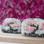CREATIVE SUSHI ROLL – SAKURA – Cherry tree in full bloom
