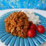 Vegetable keema curry