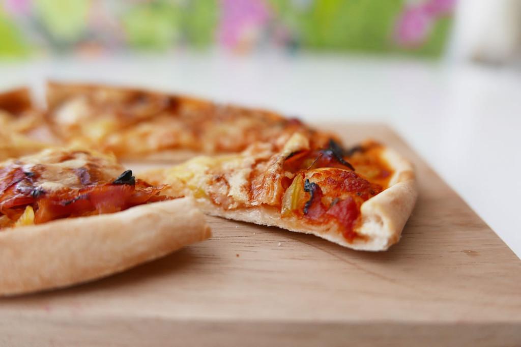 Easy crispy pizza crust