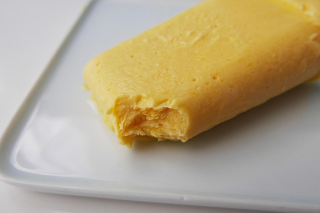 Mango ice pop