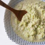 Celery puree – pasta sauce