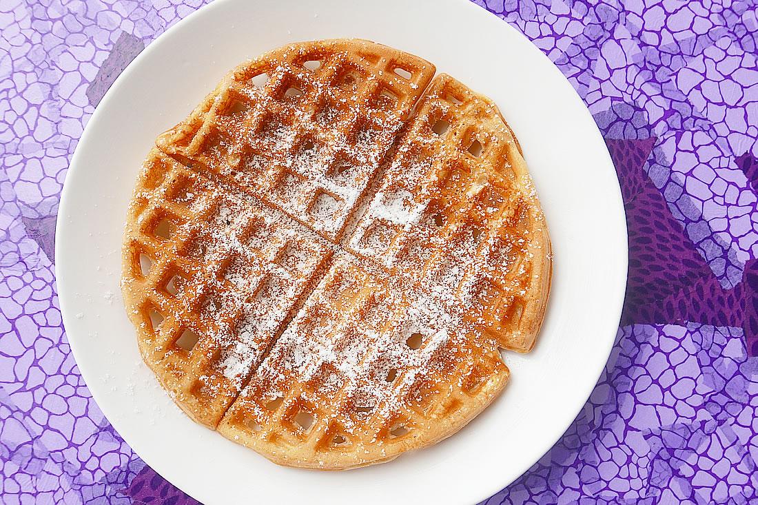 Fuwa saku waffle
