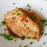 Dory filet cooked in soy sauce – nitsuke