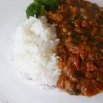 Eggplant and Ground Pork Curry