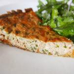 Wafu salmon quiche