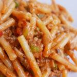 Macaroni pasta – Cheese tomato