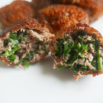 Croquette with coriander