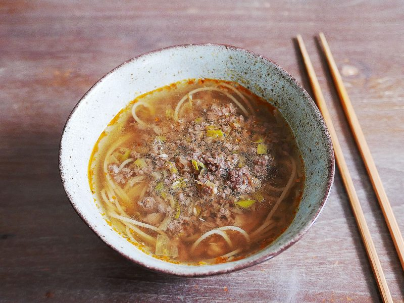 Dandan noodles - tantanmen