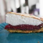 Framboise meringue tart