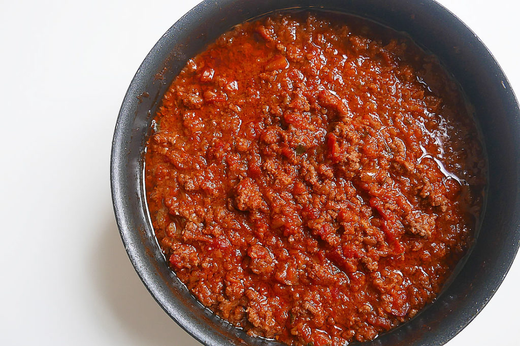 Easy meat sauce