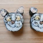 Creative Sushi Roll – Cute Dog