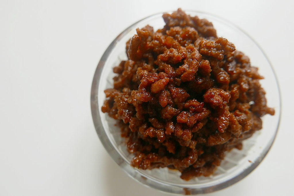 Amakara korean beef – sweet and salty