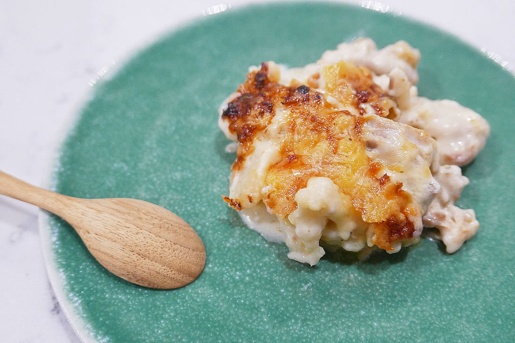 Chicken & Cauliflower Gratin