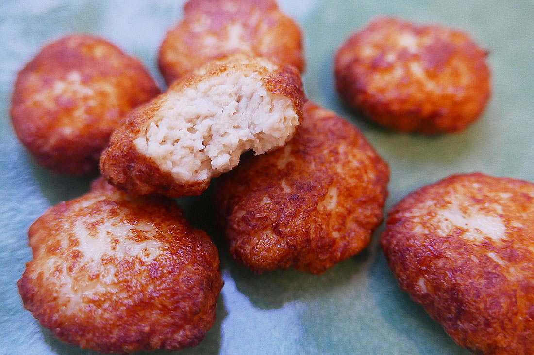 Chicken and Tofu nuggets