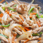 Easy vegetable pork stir-fry