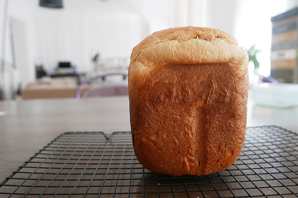 Brioche loaf bread – with bread machine