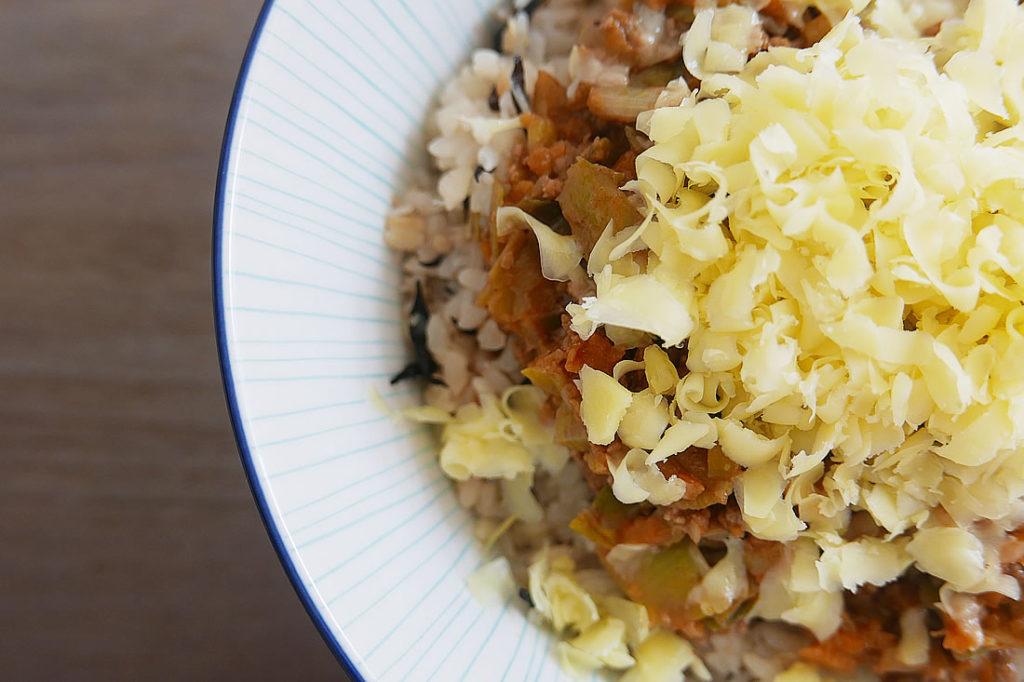 Hamburger rice - Ground beef with rice