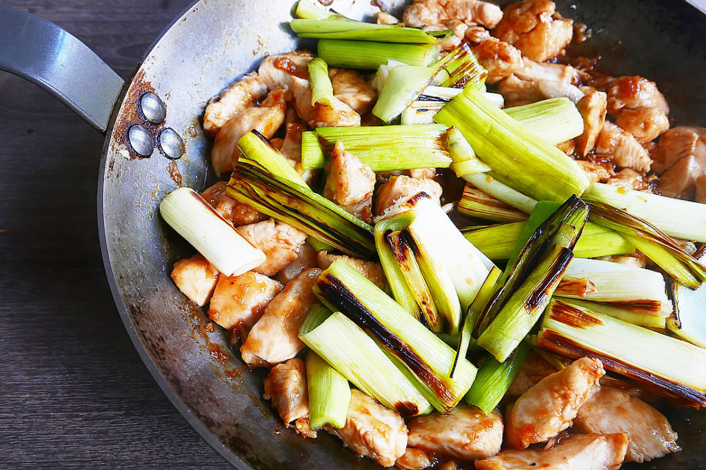 Yakitori don – grilled chicken over rice