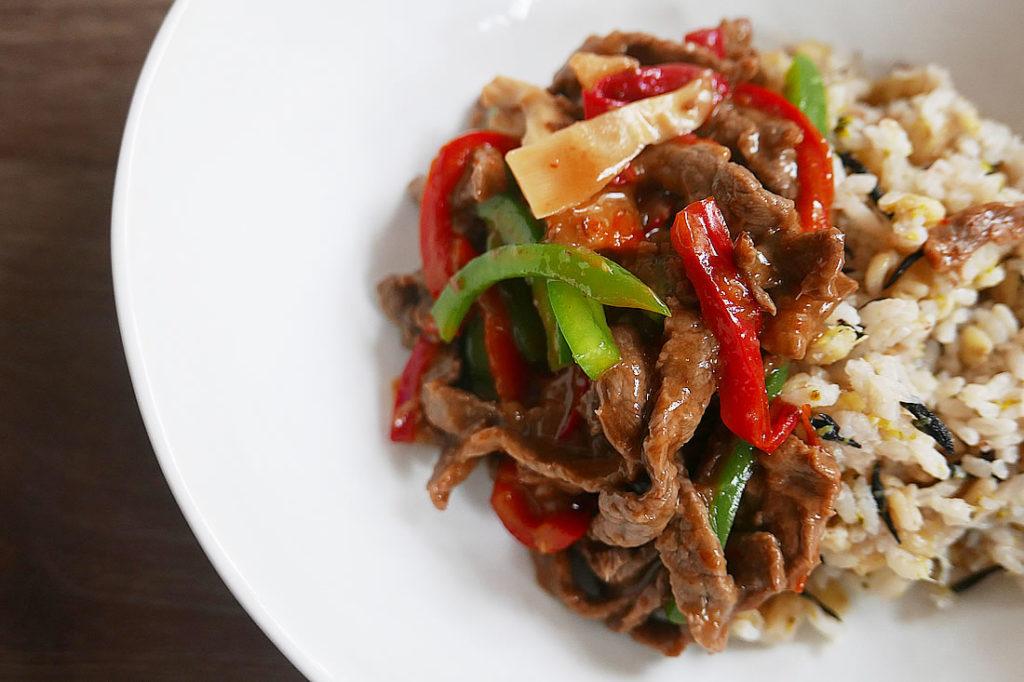 Beef & Pepper Stir Fry (chinjao rosu)