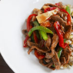 Beef & Pepper Stir Fry (chinjao rosu)