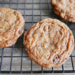 Crunchy & Chewy choco chip cookies – quick version