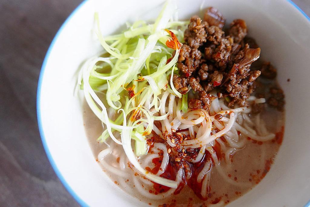 Pork dandan noodles