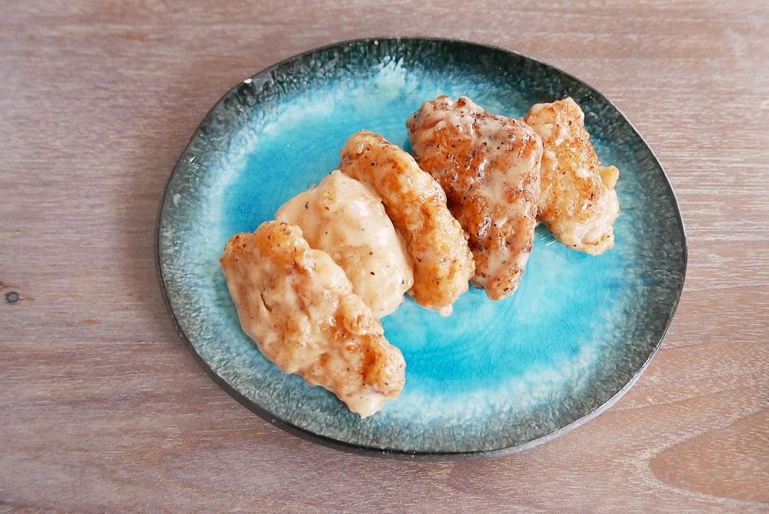 Oyster sauce Mayonnaise Chicken