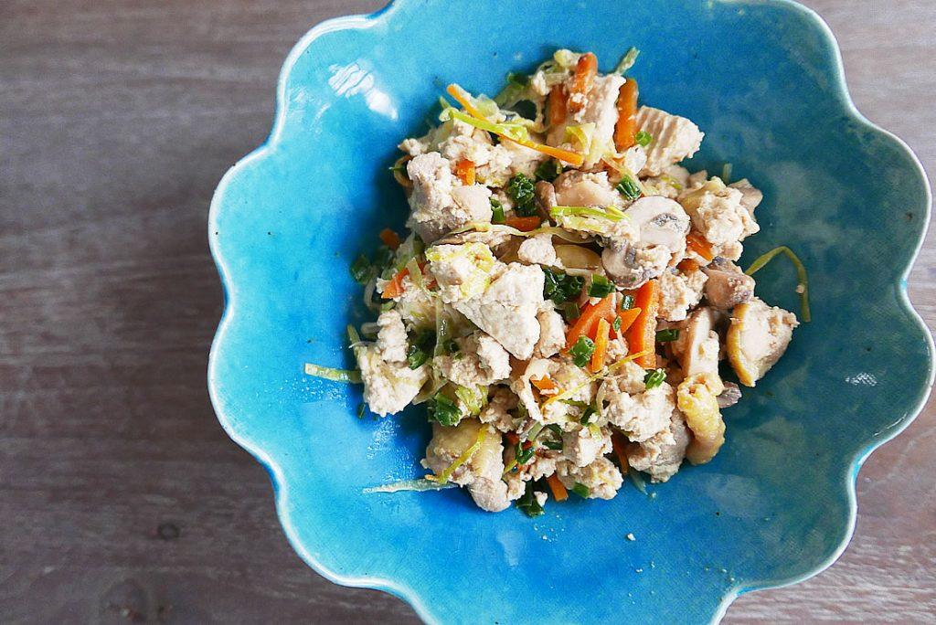 'iri dofu' Scrambled Tofu (easy)