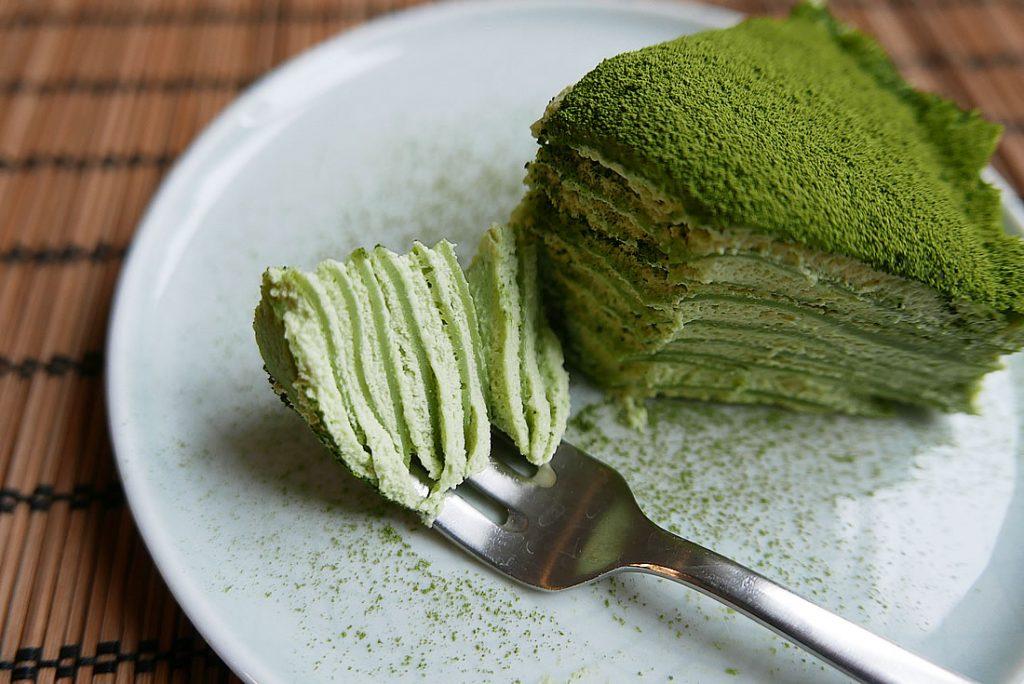 "Green tea ""Matcha"" Mille Crepe"