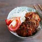 Katsudon bento – fried pork cutlet lunch box