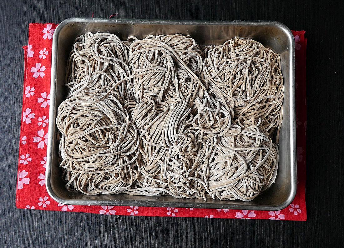 Teuchi soba with kitchenaid
