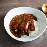 Katsu curry with curry powder (without curry roux)