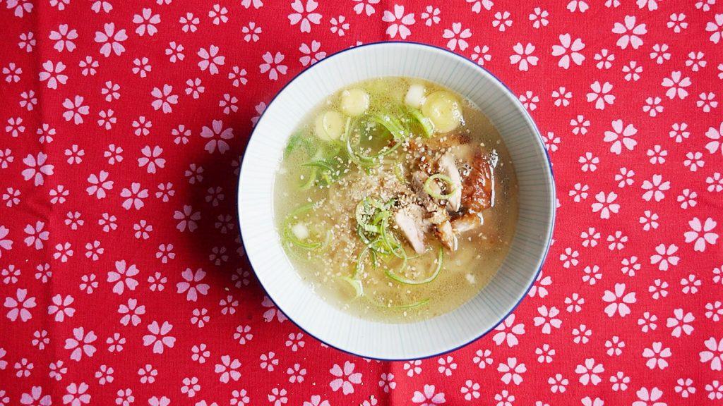 Homemade Shio Ramen