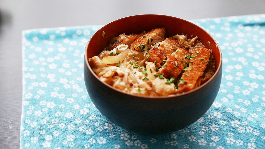 Katsudon Rice Bowl (Japanese pork cutlet)
