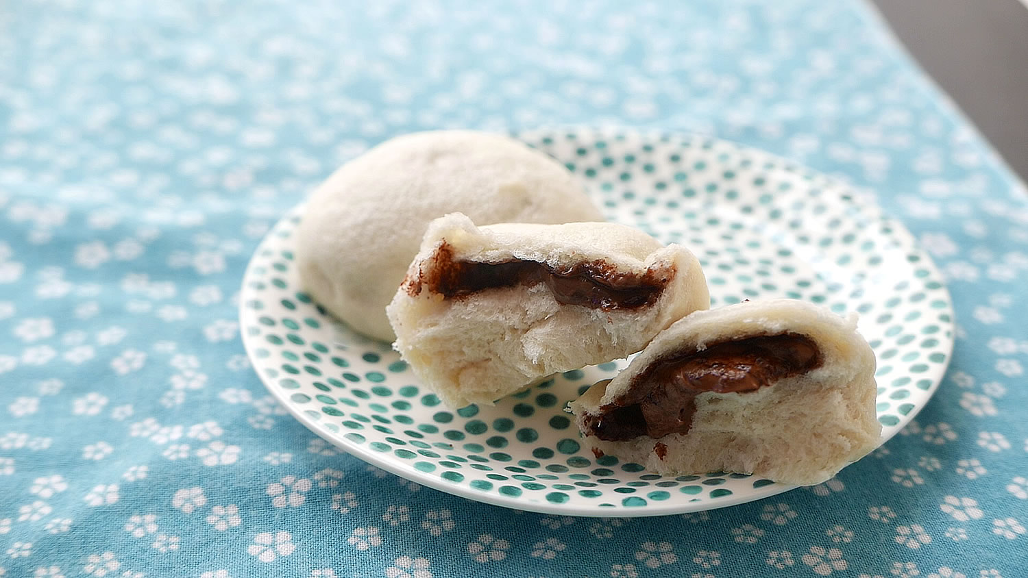 Nutella Steamed Buns / Pao