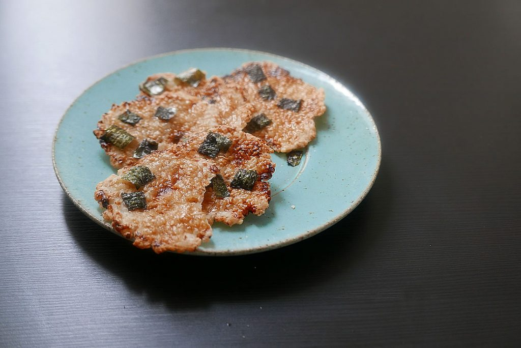 Shoyu Senbei - Senbei with soy sauce
