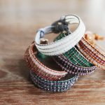 "How to make ""Triple Wrap Bracelet"""