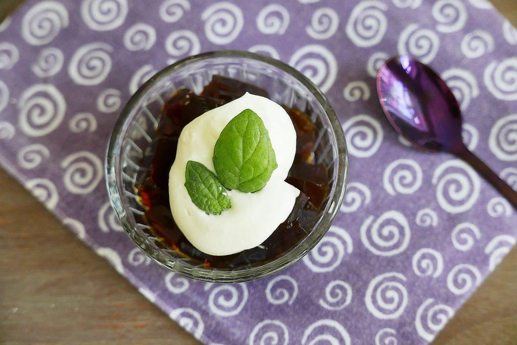 Coffee Jelly with agar agar