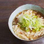 Egg drop noodle soup – Tamago toji udon